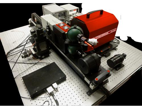 Electro optical test bench