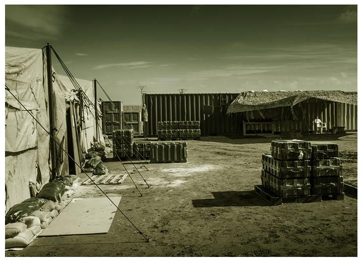 Surveillance des bases opérationnelles avancées avec la caméra thermique panoramique SPYNEL
