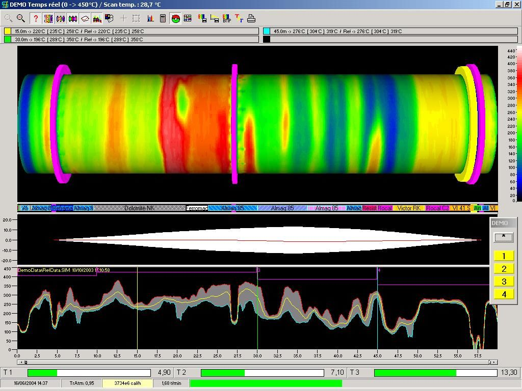 Kilnscan software screenshot