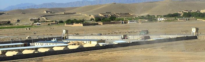 Afghanistan Forward operating base