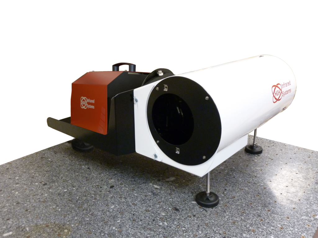 IRCOL150-750 collimator and RCN blackbody for equipment testing