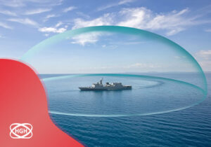 protection bubble around ship