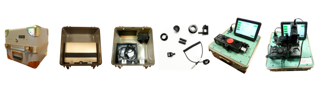 components of NV2500 product kit