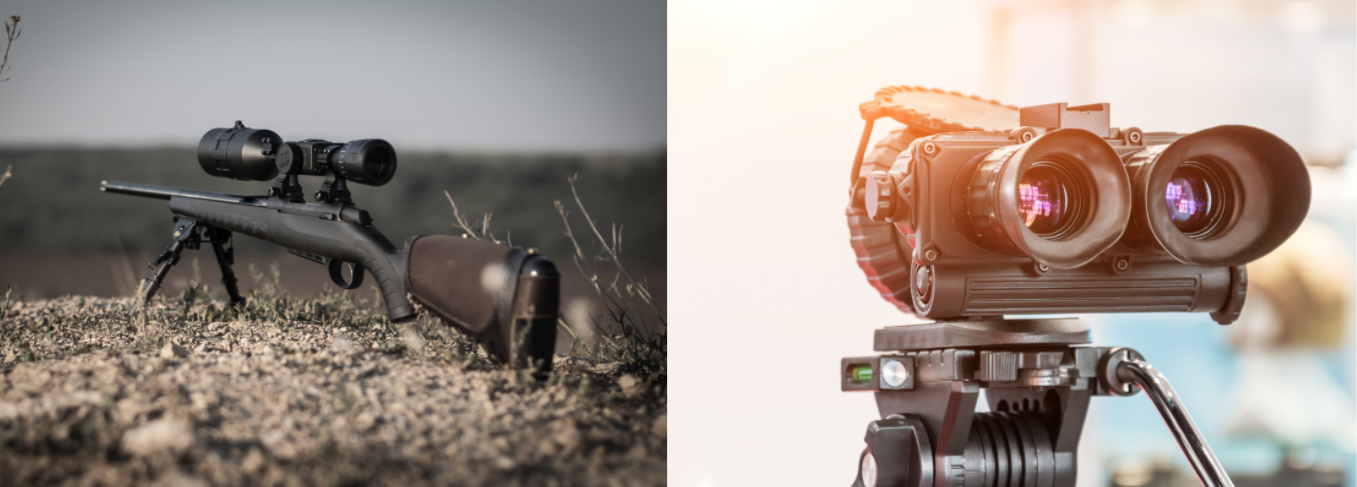 OPAL compatible devices gun scope and binoculars
