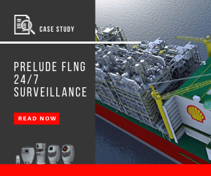 Case study on the 24/7 surveillance of PRELUDE FLNG platform