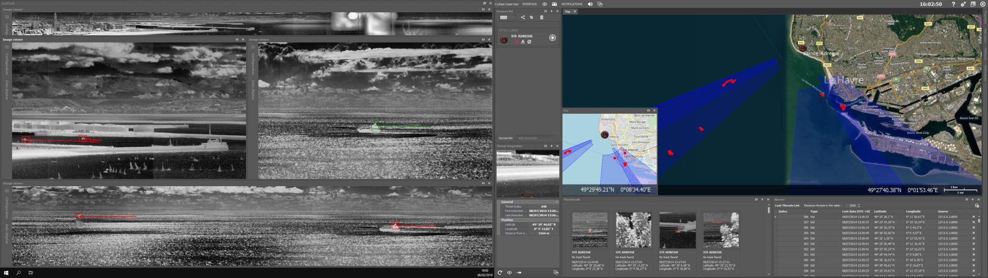 Hypervisor screenshot